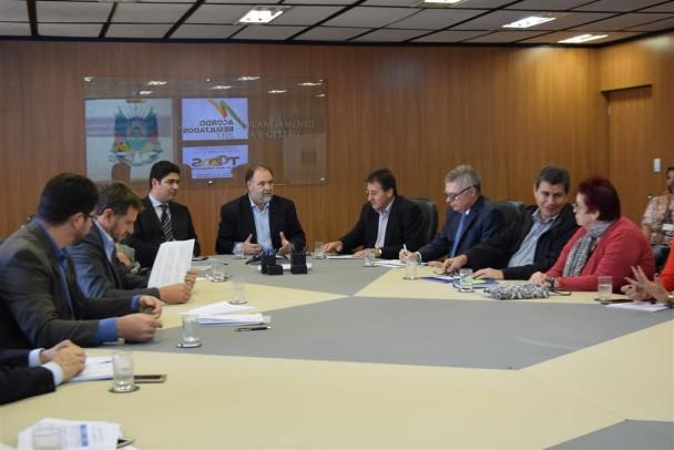 Elaborado pelo conselhos regionais de desenvolvimento (COREDEs), o PED conta com 28 planos regionais de desenvolvimento.